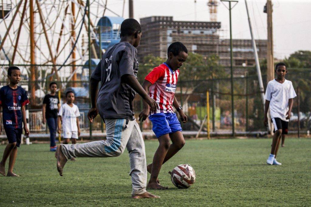 Sudan's revolution: Young footballers hope for changes in sport