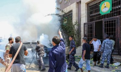 Two UN personnel killed in Benghazi by car bomb