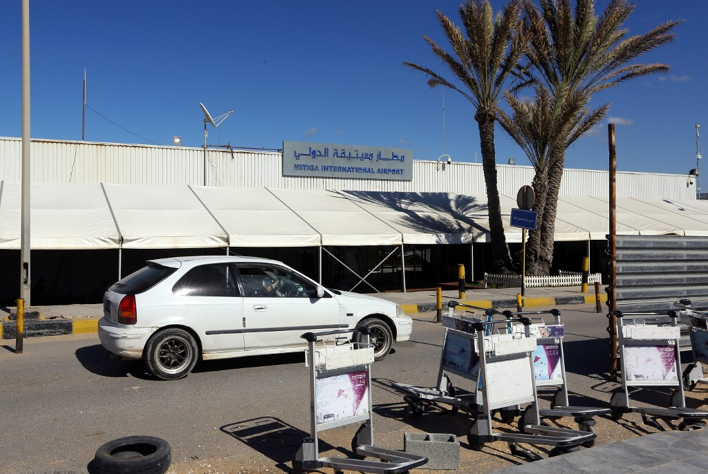 Mitiga International Airport in Libya's capital Tripoli. - Rocket fire on August 11 hit the Libyan capital's sole functioning airport,