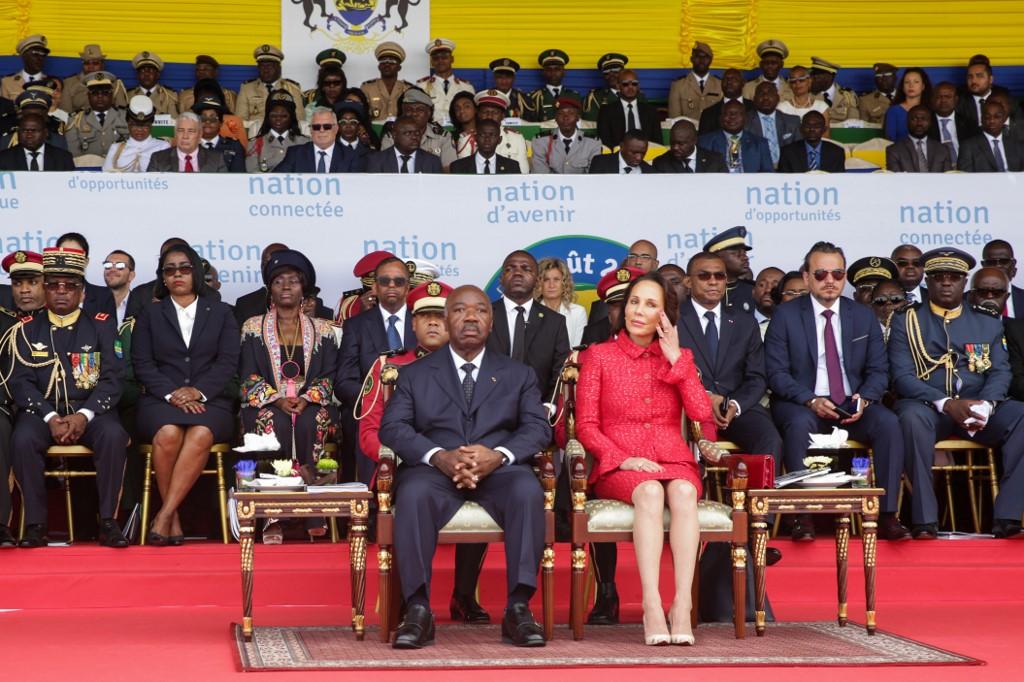Ali Bongo joins independence celebration in Libreville