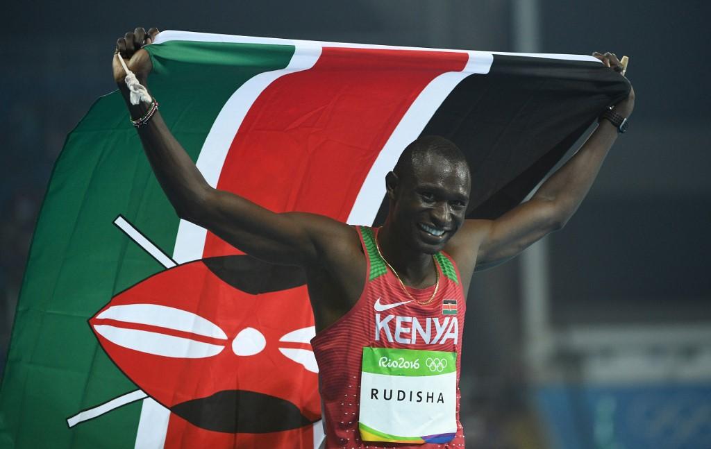 Kenya's David Lekuta Rudisha escapes car accident with minor injuries