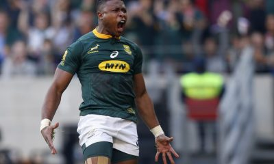 South Africa's winger Aphiwe Dyantyi fails drug test