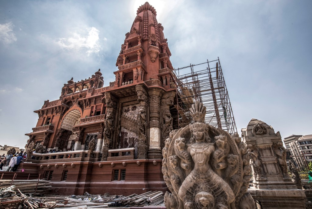 Egypt's renovation of Baron Palace sparks online outcry