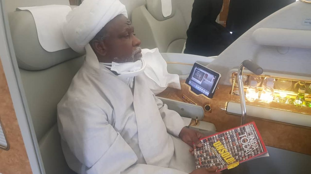 Nigeria's shi'ite leader returns from India medicals | News Central TV