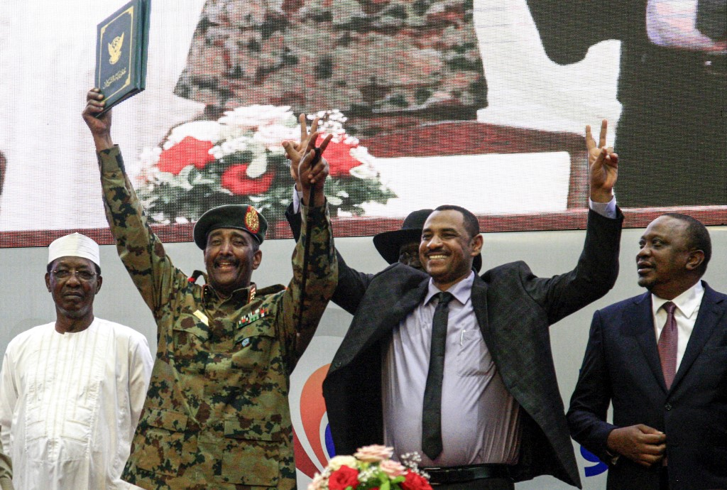 Sudan announces new sovereign council to lead transition