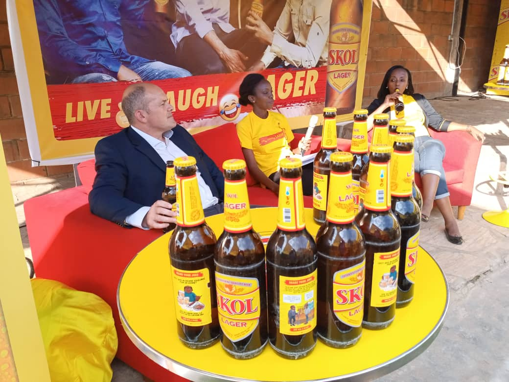 Rwanda's Skol brewer cancels sexist jokes on beer bottles after backlash