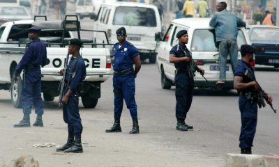 Police kill 3 during protests in DR Congo