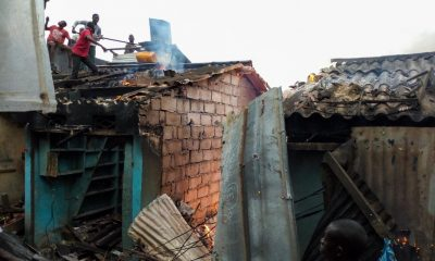 Late-night fire destroys market in Ivory Coast's major city
