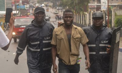 Liberian protesters clash with police during anti-corruption rally