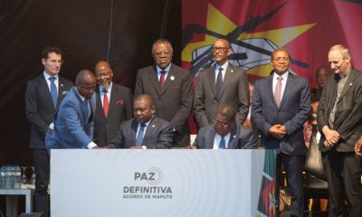 Mozambican government, Renamo rebel leader ink peace deal