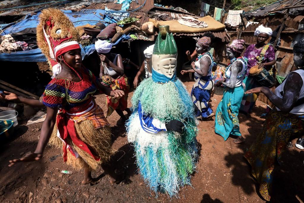 Sierra Leone's ritual society breaks away from female genital mutilation practice
