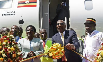 Uganda re-launches national airline with inaugural flight to Kenya