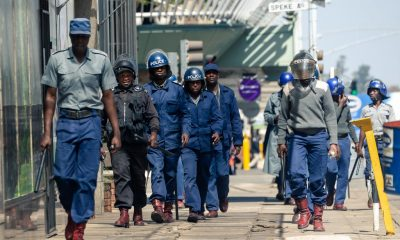 Police, soldiers deployed to prevent banned march in Zimbabwe's Bulawayo city