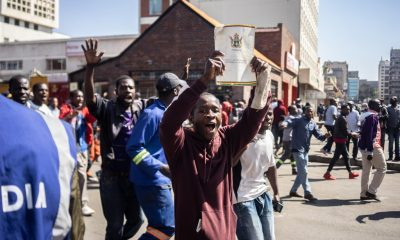 Zimbabwean protesters defy ban on rally amidst harsh police suppression