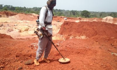 Camerron discovers 300 mines