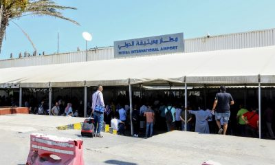 Rocket fire on airport injures 4