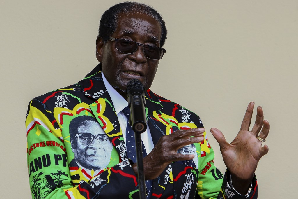 "Zimbabwean state media says former President Robert Mugabe died of ""cancer"""