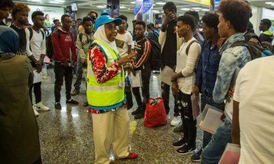 Rwanda receives first batch of 66 Libyan returnees