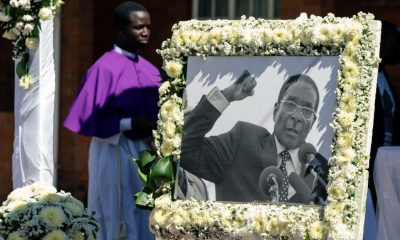 Robert Mugabe's burial begins in his hometown