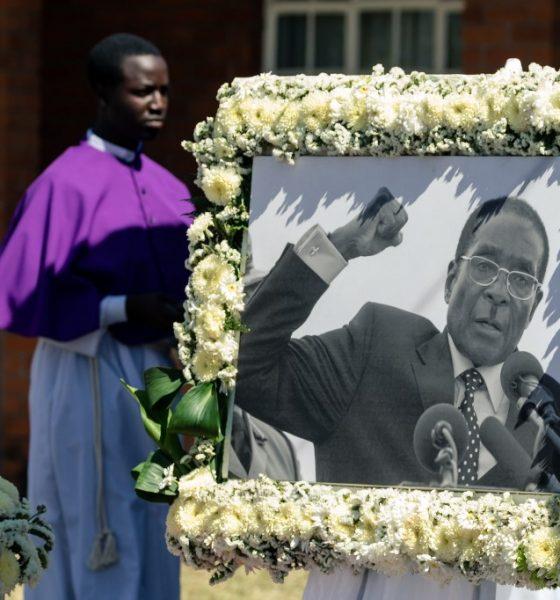 Robert Mugabe's burial begins in his hometown