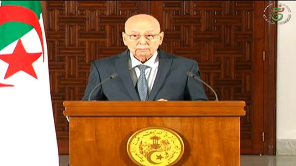 Abdelkader Bensalah announces Algeria Elections December 12