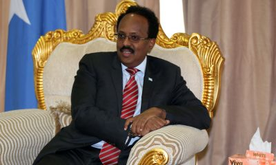 Mohamed Abdullahi Mohamed signs anti-corruption law in Somalia