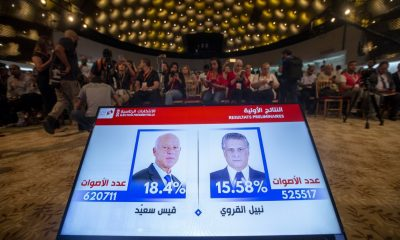 Kais Saied and Nabil Karoui to face off in Tunisia's runoff election