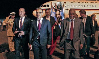 Sudan receives German foreign minister Heiko Maas