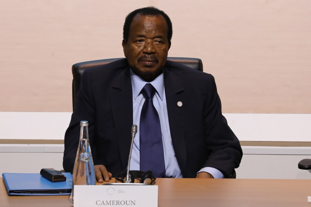 Cameroonian President Biya calls for 'national dialogue' to resolve separatist crisis