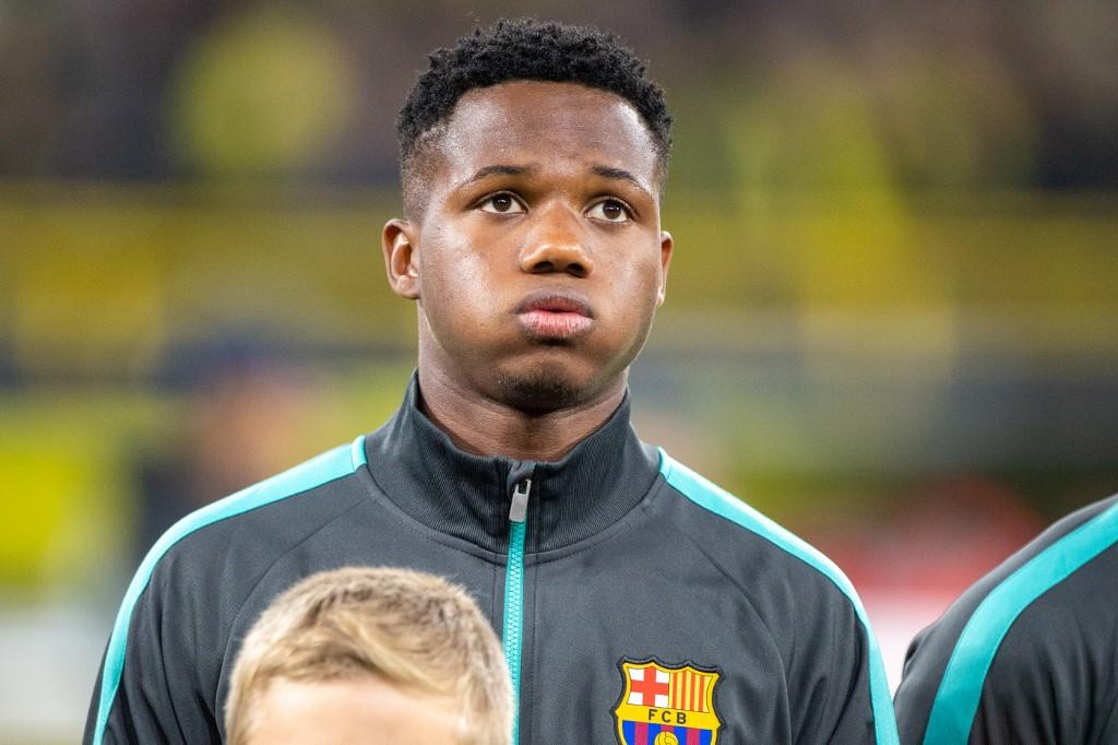 Ansu Fati: From Guinea-Bissau suburb to Barcelona's Camp Nou