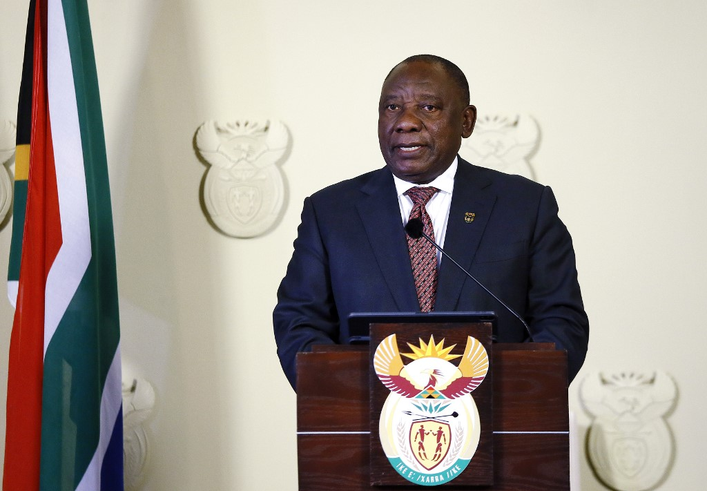South African President Ramaphosa condemns renewed xenophobic violence