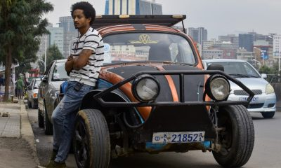 "Ethiopian youths ""pimp out"" jalopy Beetles to revive auto culture"