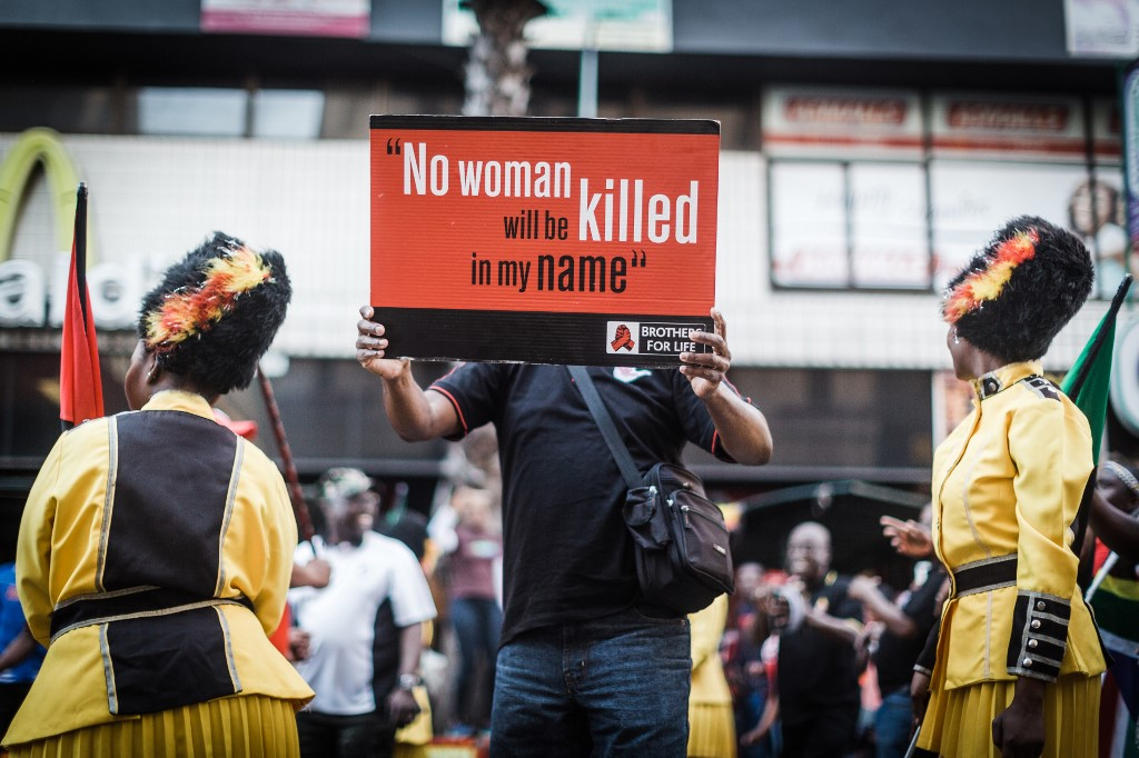 South Africa struggles with surge of gender-based violence