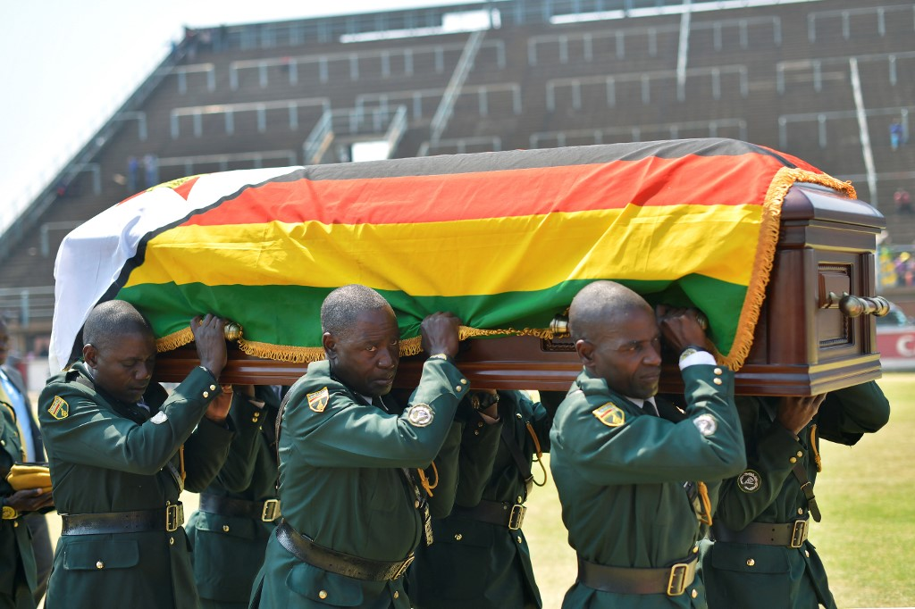 Robert Mugabe: Family agrees to burial at Zimbabwe's national monument