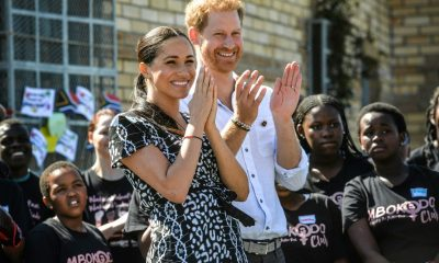 Prince Harry, Megan Markle and baby Archie arrive South Africa for tour