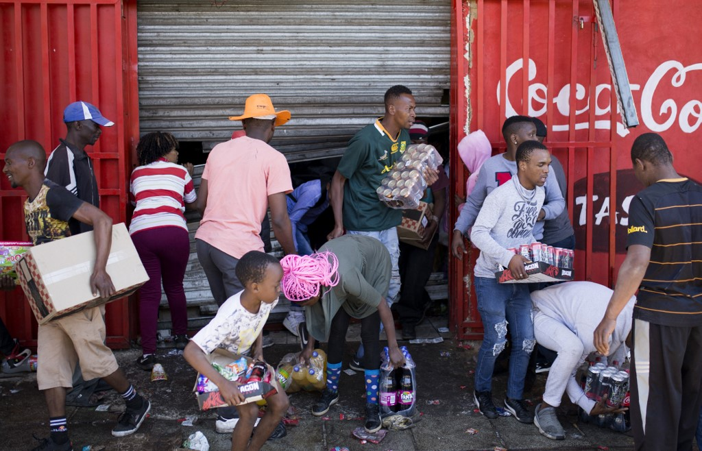 Police arrests scores in South Africa over looting and xenophobic riots