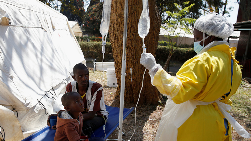 Sudan reports 4 cases of cholera in Blue Nile state