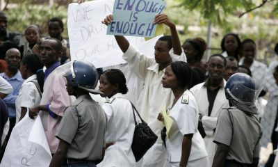 Doctors embark on strike action over pay in Zimbabwe