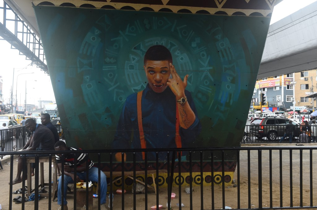 portrait of singer and songwriter Ayodeji Ibrahim Balogun, popularly called Wizkid