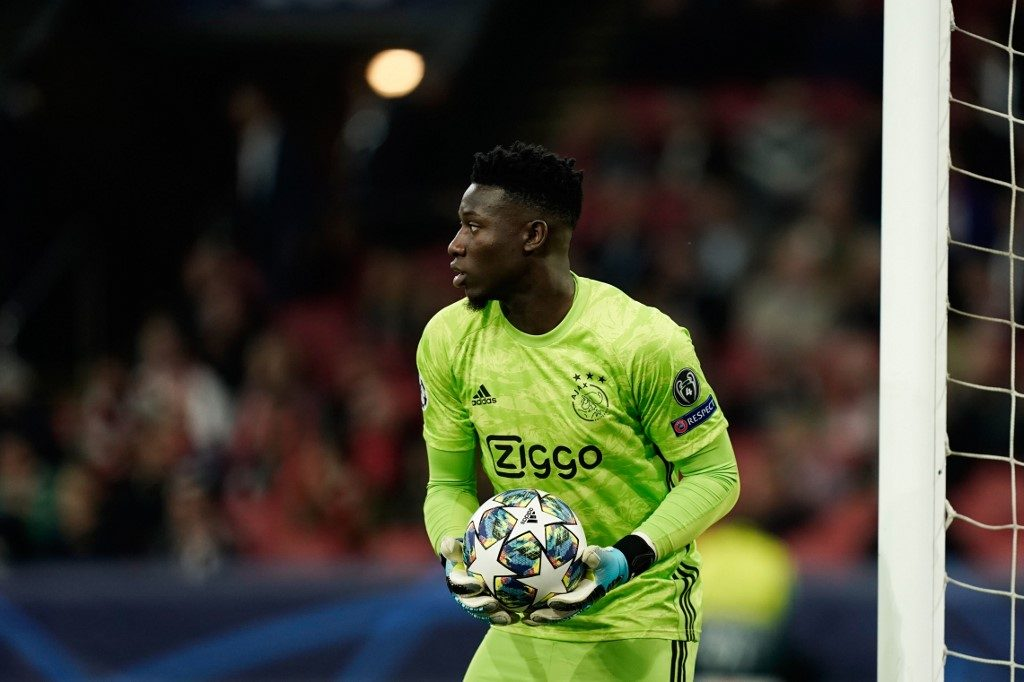 Ajax's Cameroon goalkeeper Andre Onana makes our 3rd Round Africa 11