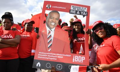 Botswana's President Masisi wins hotly-contested election