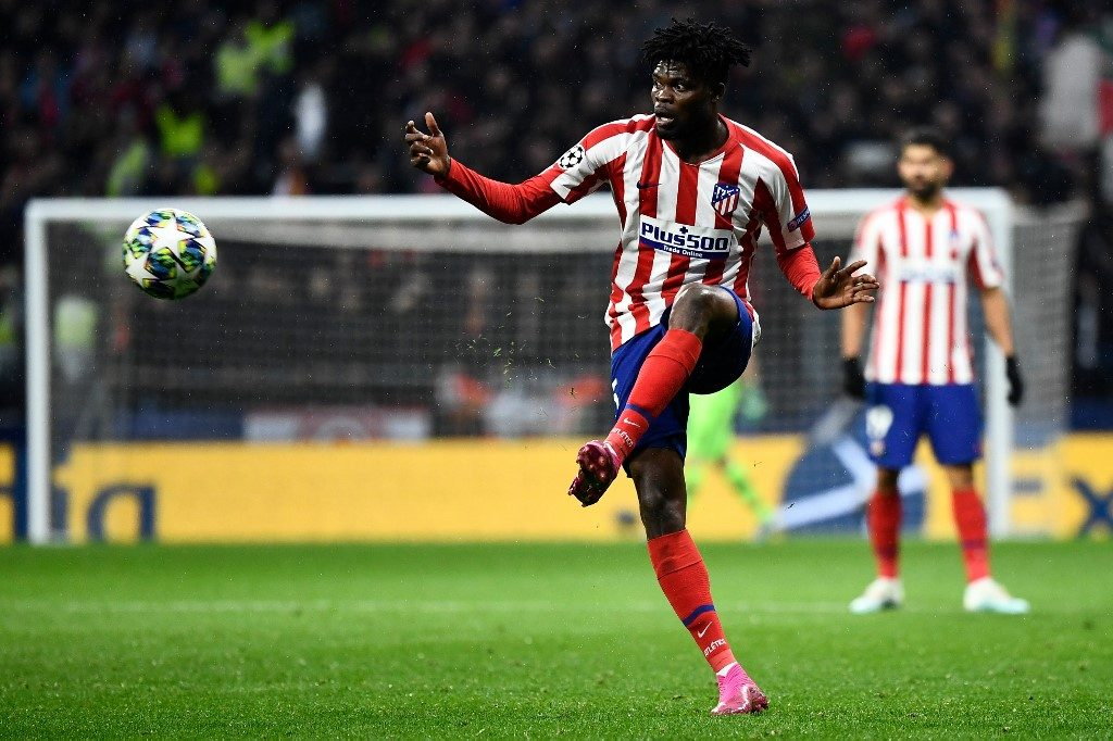 Atletico Madrid's Ghanaian midfielder Thomas Partey makes our 3rd Round Africa 11