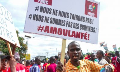 Massive protest in Conakry over president's possible 3rd term