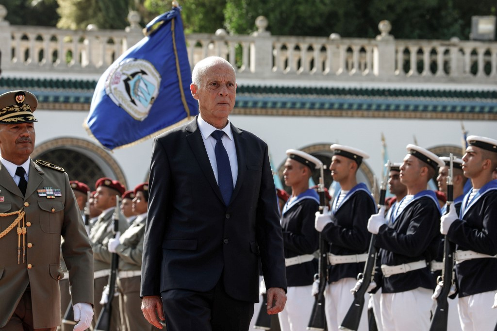 Newly sworn-in Tunisia president vows to reunite the country