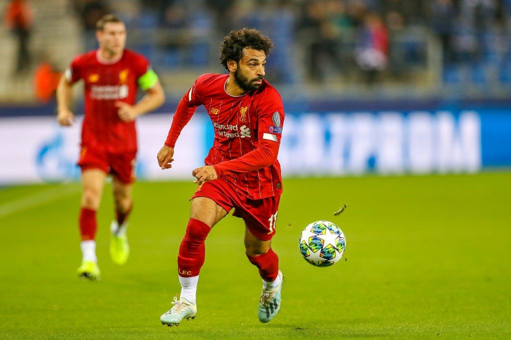Liverpool striker Mohamed Salah makes our 3rd Round Africa 11