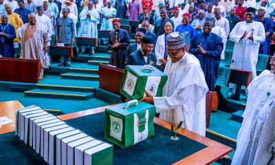 Nigerian President Buhari submits 2020 budget to legislature