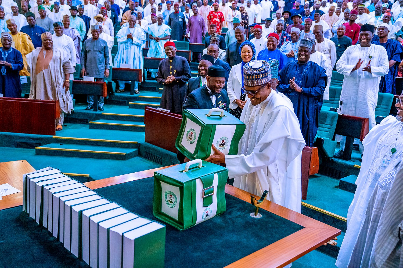 Nigerian President Buhari submits 2020 budget to legislature