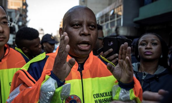 Johannesburg Mayor, Herman Mashaba resigns over party's stance on racial inequality