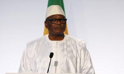 Malian President Ibrahim Boubacar Keita dismisses coup speculation