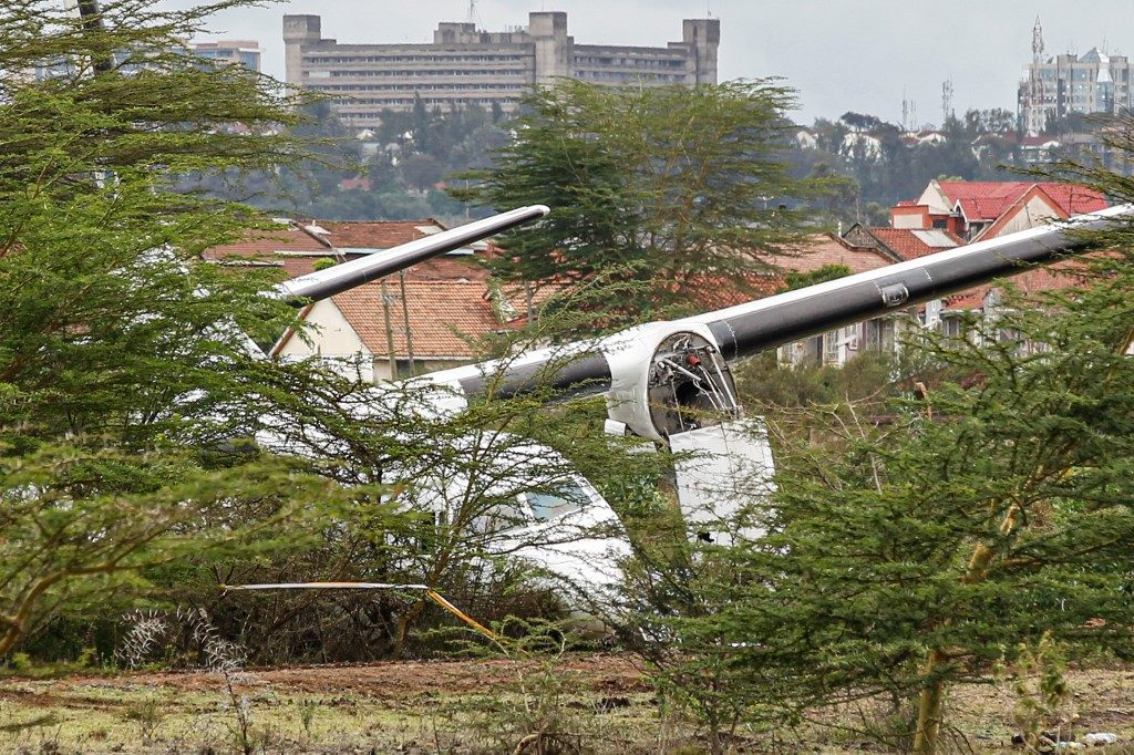 2 passengers injured after Lamu-bound plane veers off runway in Kenya